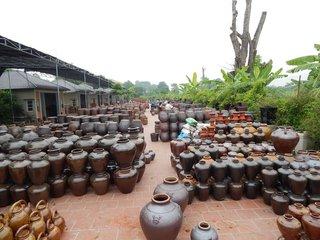 Hanoi City Tour - Bat Trang Pottery Village - Night Train to Sapa (B, L)