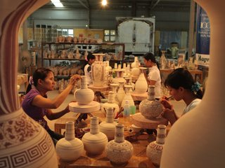 Thanh Ha Pottery-Kim Bong Village Tour Half Day (from Hoian)