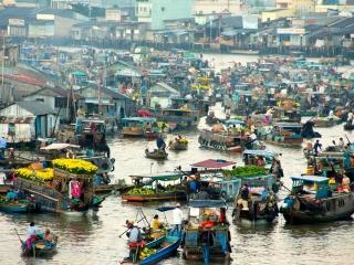 Ho Chi Minh – Vinh Long ( Mekong Delta) ( L, D)