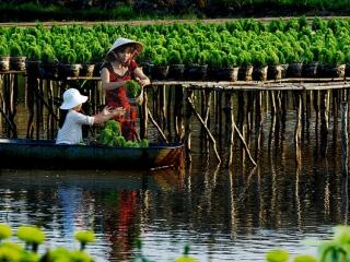 Mekong Delta (B, L, D)