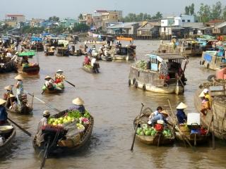 Can Tho, Cai Rang Floating Market – Ho Chi Minh(B, L)