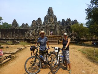Angkor Temple Cycling Tour (Cycling distance: 48km) (B, L)