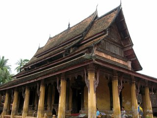 Vientiane City Tour – Lunch on Boat Cruise Ban Tha Ngon (B, L)