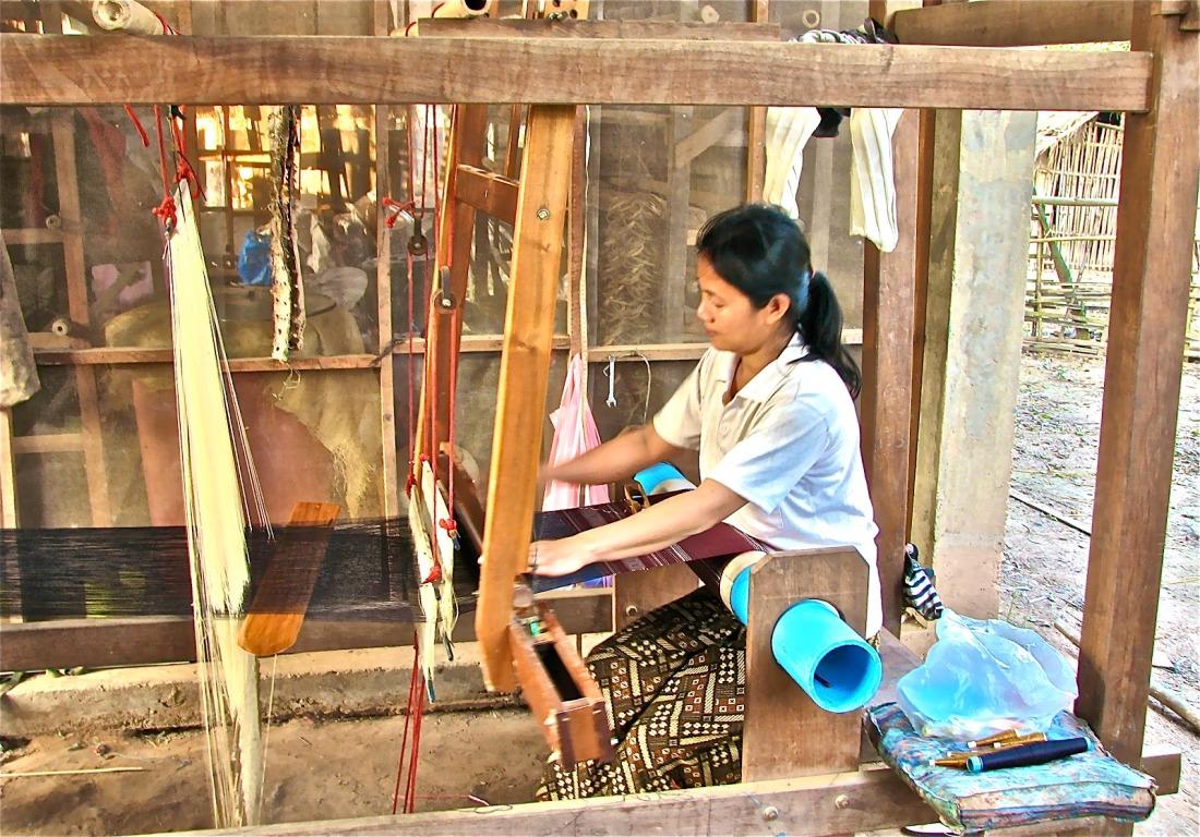 Handicraft Village Luang Namtha Attractions Viet